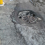 Alley Pothole Complaint at 1817 W Larchmont Ave, Chicago, IL  60613, United States