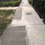 Sidewalk Inspection Request at 2737 W Hirsch St